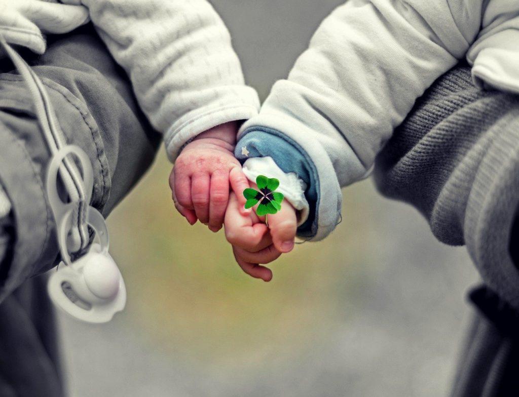 babies, children, hands